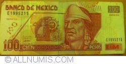 Image #1 of 100 Pesos 2007 (20. XI.) - Serie DX