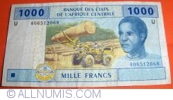 Image #1 of 1000 Francs 2002