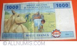 Image #2 of 1000 Francs 2002