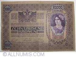 Image #1 of 10000 Kronen ND (1919 - old date 02. XI. 1918) - Overprint: DEUTSCHOSTERREICH on Oesterreichisch-Ungarische Bank issue