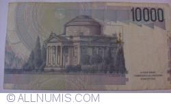 Image #2 of 10000 Lire 1984 (3. IX.) - Signature Antonio Fazio/Antonio Amici