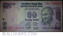 Image #1 of 50 Rupees 2008 - E