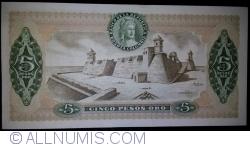 5 Pesos Oro 1975 (20. VII.)
