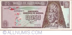 Imaginea #1 a 1/2 Quetzal 1993 (27. X.)