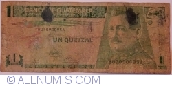 1 Quetzal 1995 (6. IX.)
