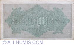 1000 Mark 1922 (15.IX.) - 8
