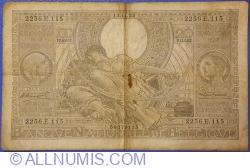 100 Francs / 20 Belgas 1935 (13. XI.)