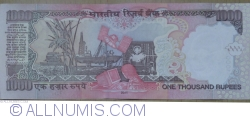 Image #2 of 1000 Rupees 2011 - L