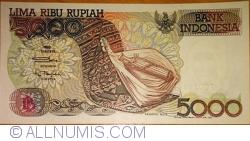 5000 Rupiah 1992/1999