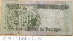 20 Escudos 1964 (26.V.) - signatures Manuel Jacinto Nunes / Fernando Emygdio da Silva