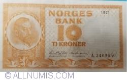 10 Kroner 1971