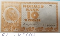 Image #1 of 10 Kroner 1971