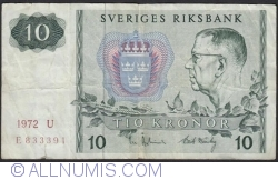 Image #1 of 10 Kronor 1972
