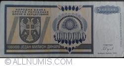 Imaginea #1 a 1 000 000 Dinari 1993