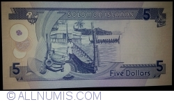 Image #2 of 5 Dollars ND (2006) - 2