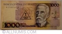 Image #1 of 1 Cruzado Novo on 1000 Cruzeiros ND (1989)