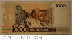 Image #2 of 1 Cruzado Novo on 1000 Cruzeiros ND (1989)