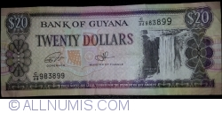 Image #1 of 20 Dollars ND (1996) - signatures Dr. Bobind Ganga / Ashni Singh