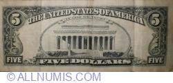 Image #2 of 5 Dollars 1995 - B