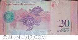 Imaginea #2 a 20 Bolivares 2011 (3. II.)