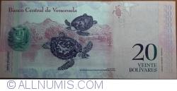 Imaginea #2 a 20 Bolivares 2013 (29. X.)