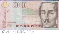 Image #1 of 2000 Pesos 2013 (29. VIII.)