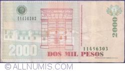 Image #2 of 2000 Pesos 2013 (29. VIII.)