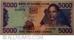 Imaginea #1 a 5000 Leones 1996 (27. IV.)