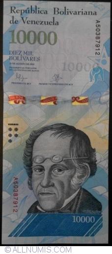 Imaginea #1 a 10 000 Bolivares 2016 (18. VIII.)