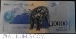 Imaginea #2 a 10 000 Bolivares 2016 (18. VIII.)