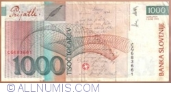 1000 Tolarjev 2004