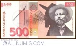 500 Tolarjev 2001