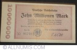 Image #1 of 10 000 000 Mark 1923 (2. IX.) - serial type (2)