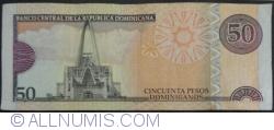 Imaginea #2 a 50 Pesos Dominicanos 2011