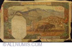 Image #2 of 100 Francs 1940 (2. VIII.)