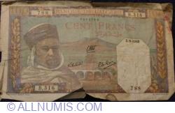 Image #1 of 100 Francs 1940 (2. VIII.)
