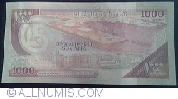 Image #2 of 1000 Shilin = 1000 Shillings 1996