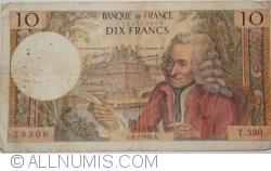 10 Francs 1970 (8. I.)
