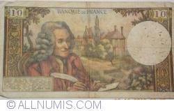 Imaginea #2 a 10 Franci 1970 (8. I.)