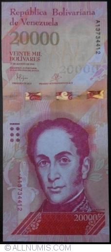 Image #1 of 20,000 Bolivares 2016 (18. VIII.)
