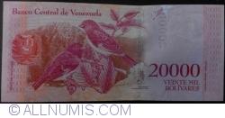 Image #2 of 20,000 Bolivares 2016 (18. VIII.)