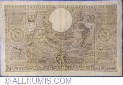 100 Francs / Frank = 20 Belgas 1936 (21. XII.)