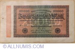 Image #1 of 20,000 Mark 1923 (20. II.) - 4