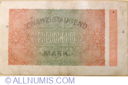 Image #2 of 20,000 Mark 1923 (20. II.) - 4