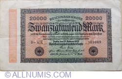 Image #1 of 20,000 Mark 1923 (20.II.) - 5