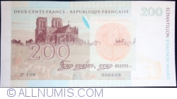 Image #2 of Echantillon - 200 Francs