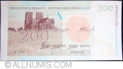 Echantillon - 200 Francs