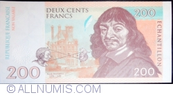 Image #1 of Echantillon - 200 Francs