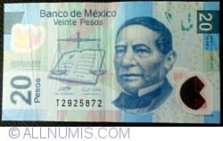 Image #1 of 20 Pesos 2010 (3. V.) - Serie L