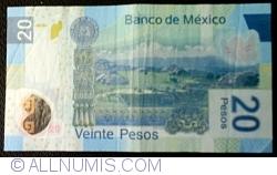 Image #2 of 20 Pesos 2010 (3. V.) - Serie L